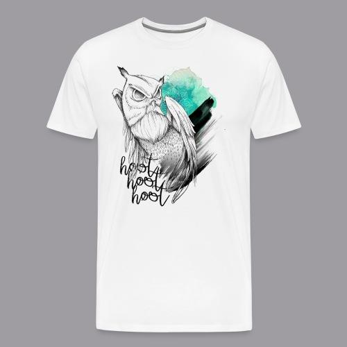 HootHoot - Männer Premium T-Shirt