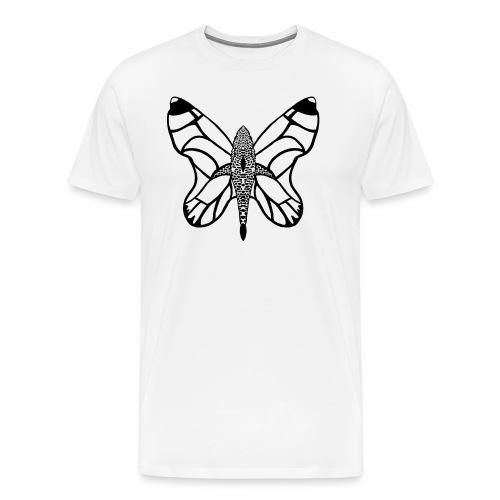 shark butterfly - T-shirt Premium Homme