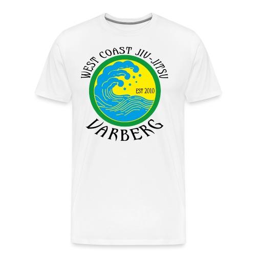 west coast jiu jitsu - Premium-T-shirt herr