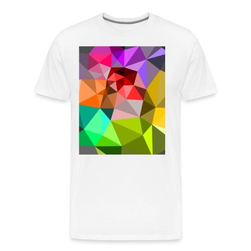 Bunte Dreiecke - Männer Premium T-Shirt