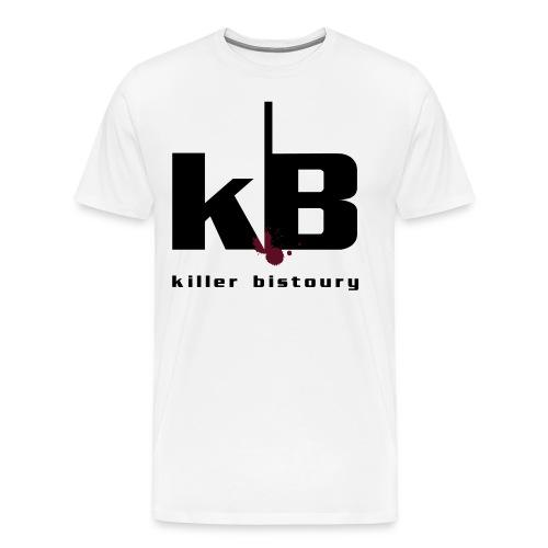 killer bistoury white - Maglietta Premium da uomo