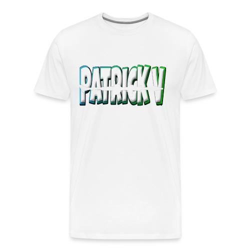 Patrick V Name - Men's Premium T-Shirt
