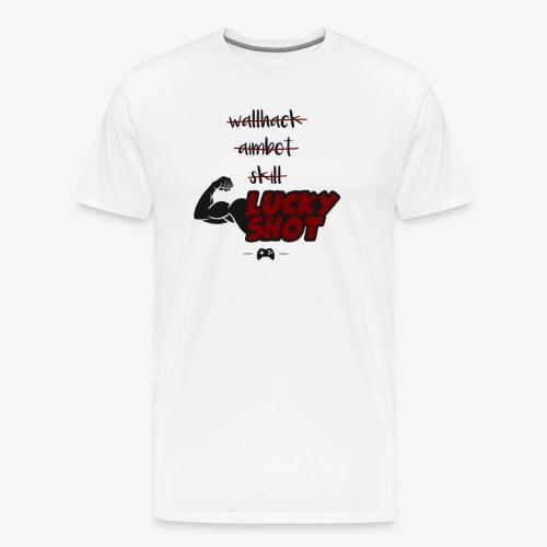 lucky shot - T-shirt Premium Homme