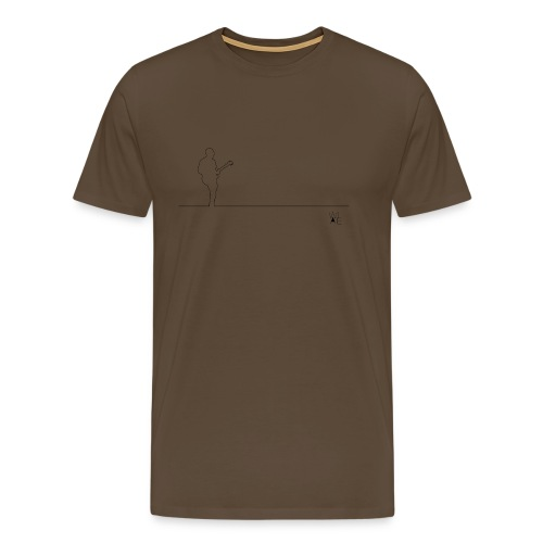 David1L png - Men's Premium T-Shirt