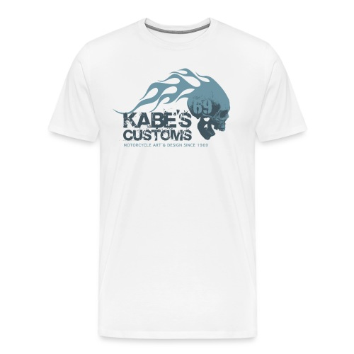 Kabes Customs Logo T-Shirt - Men's Premium T-Shirt