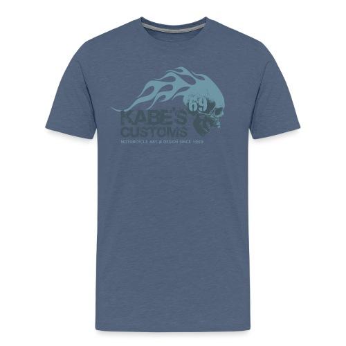 Kabes Customs Logo T-Shirt - Men's Premium T-Shirt