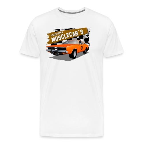 Muscle Car Dodge Charger - Men's Premium T-Shirt
