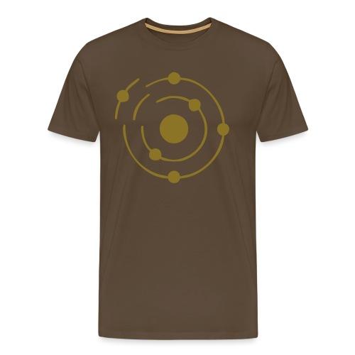 compton effekt atomlogo - Männer Premium T-Shirt