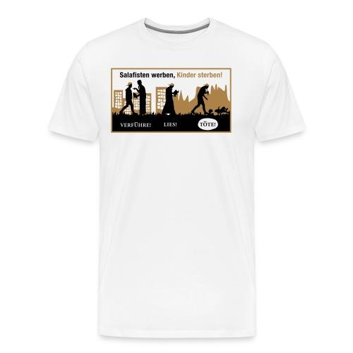 Anti-Salafisten - Männer Premium T-Shirt