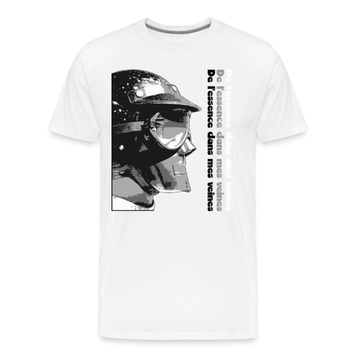 DLEDMV - Casque - T-shirt Premium Homme