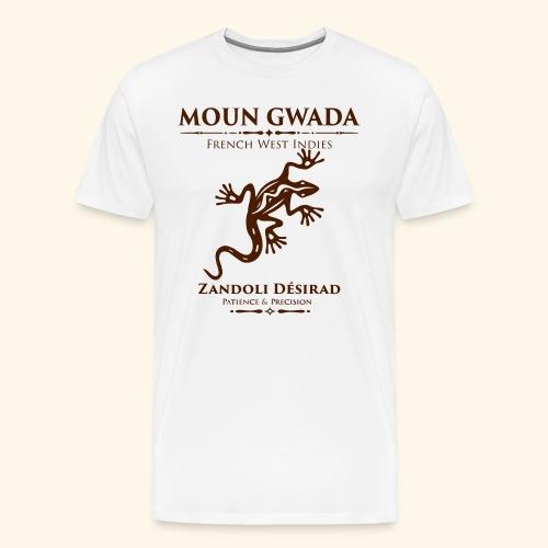 Moun Gwada-Zandoli - T-shirt Premium Homme