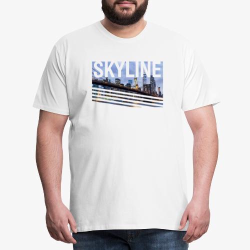 skyline - Camiseta premium hombre