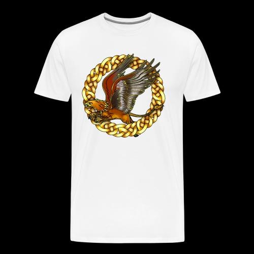 Golden Gryphon - Men's Premium T-Shirt