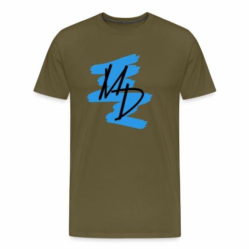 MD BRAND PNG Azul - Camiseta premium hombre