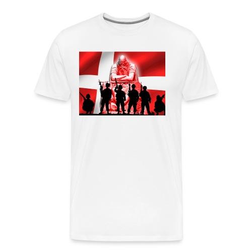 Holger Danske - Herre premium T-shirt