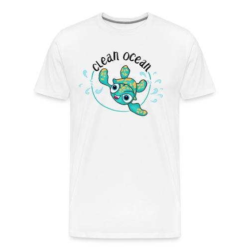 Clean Ocean - Männer Premium T-Shirt