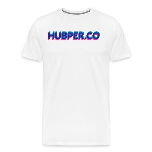 Hubper.co overprinted - Mannen Premium T-shirt