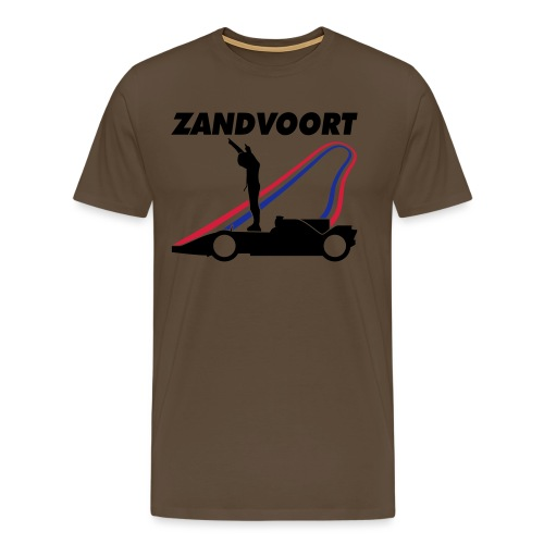 Zandvoort rood wit blauw - Mannen Premium T-shirt