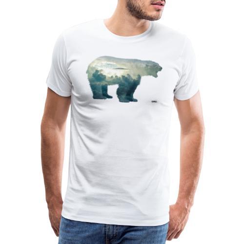 Sky Bear, Original Kombis - Premium T-skjorte for menn