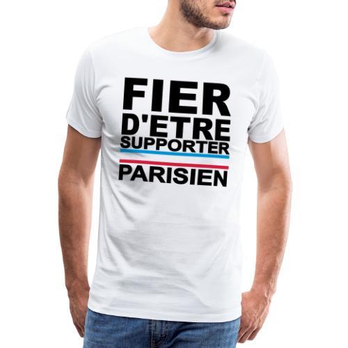 fier parisien noir 01 - T-shirt Premium Homme