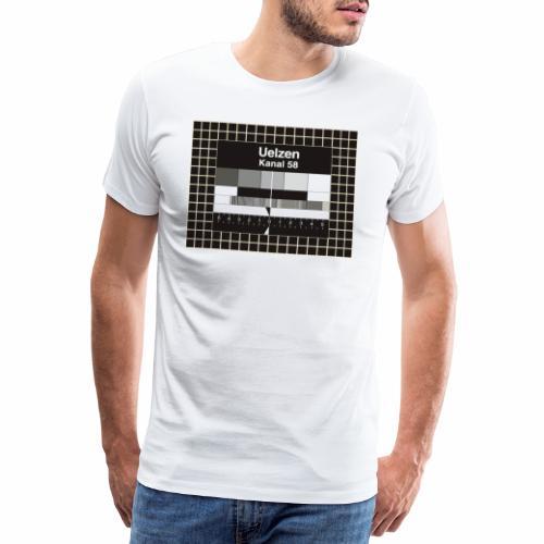 Testbild Uelzen Kanal 58 - Männer Premium T-Shirt