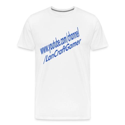 Delux LanCraftGamer Clothes/Accessories - Premium-T-shirt herr