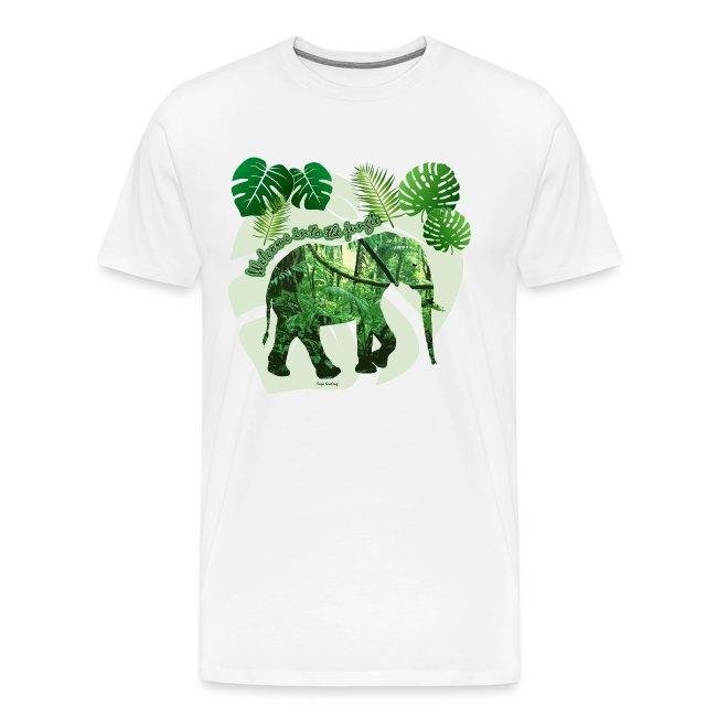 Dschungel - Elefant - Loxodonta cyclotis