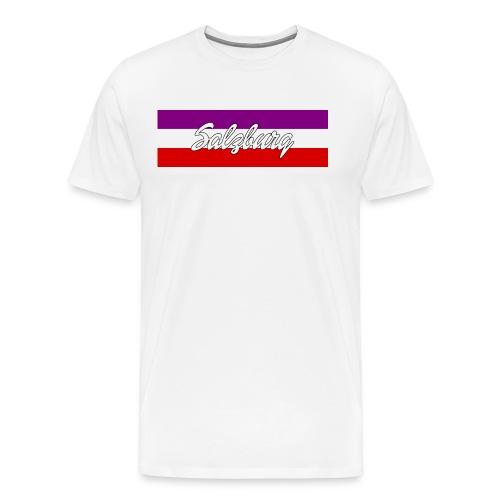 4000x Salzburg Rot - Männer Premium T-Shirt
