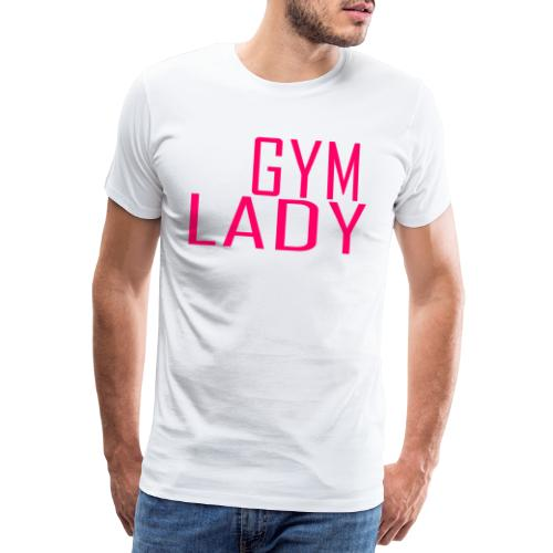 Gym Lady - Männer Premium T-Shirt