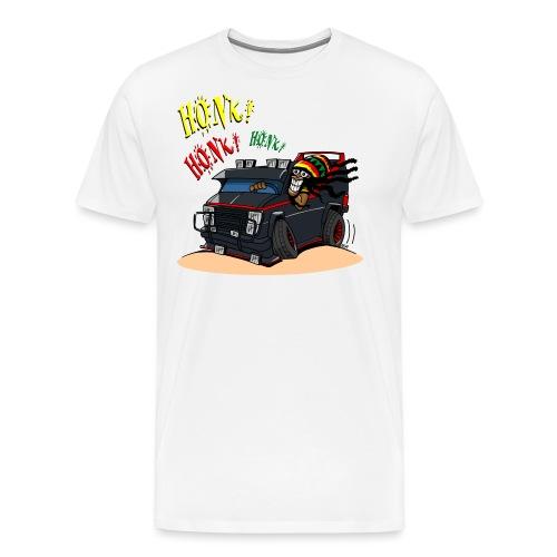0779 BA RASTA VAN - Mannen Premium T-shirt