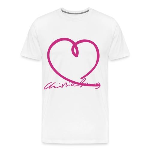 burg autogr4fett - Männer Premium T-Shirt