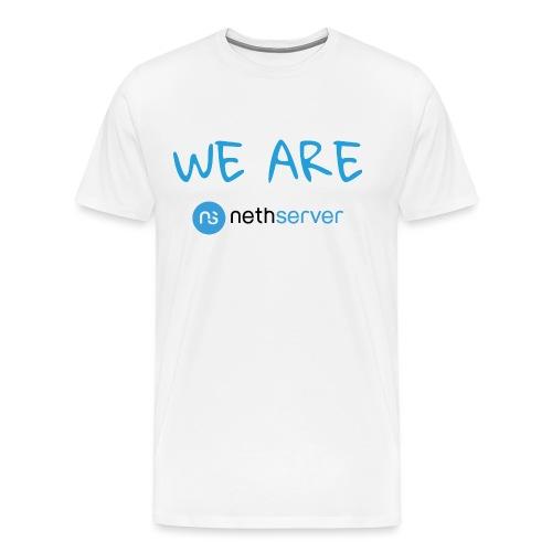 blue-black-rectangle - Men's Premium T-Shirt