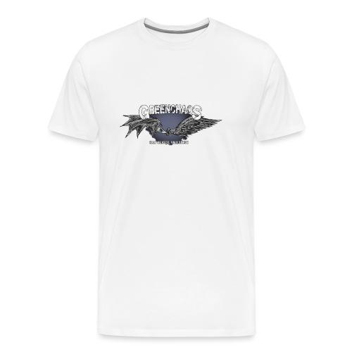 Dämon / Mensch - Weiss (Weiblich) - Männer Premium T-Shirt