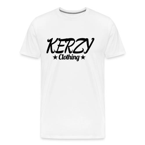 Official KerzyClothing T-Shirt Black Edition - Men's Premium T-Shirt