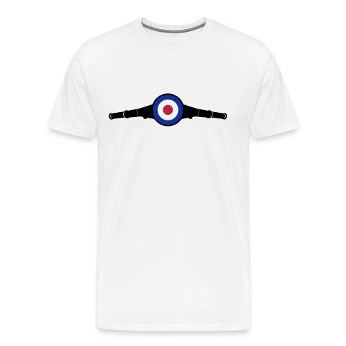 Lenkkopf Target - Männer Premium T-Shirt
