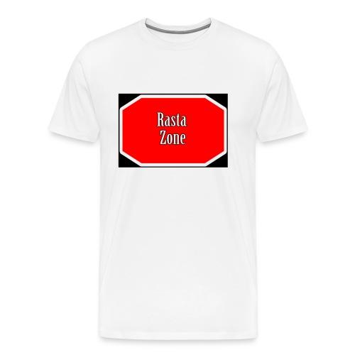 rasta zone - Camiseta premium hombre