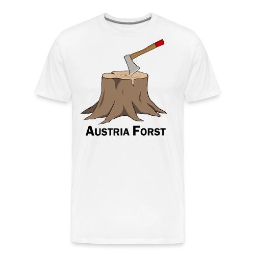 Baumstumpf - Männer Premium T-Shirt
