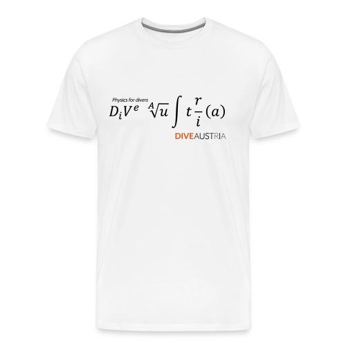 Physics for divers (DiveAustria) - Männer Premium T-Shirt