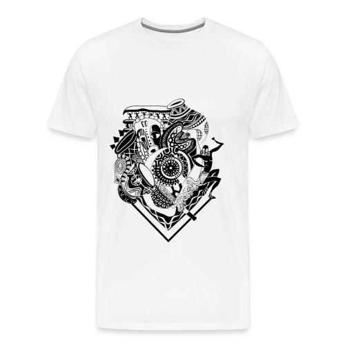 afrocentrique - Men's Premium T-Shirt