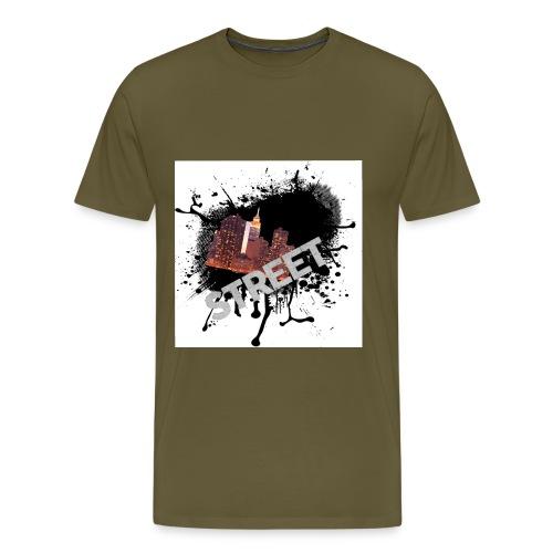 street - Herre premium T-shirt
