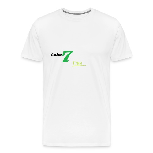 F7NN Merch png - Männer Premium T-Shirt