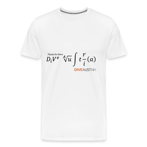 Physics for divers (DiveAustria) - Männer Premium T-Shirt