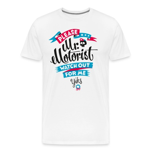 Mr. Motorist - Men's Premium T-Shirt