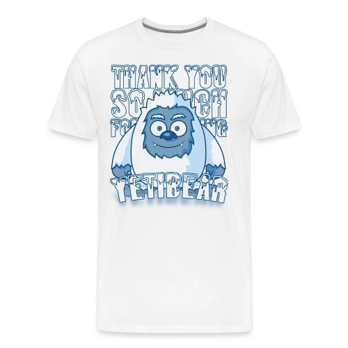 Yeti Design - Mannen Premium T-shirt