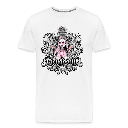 Our mother of light - Mannen Premium T-shirt