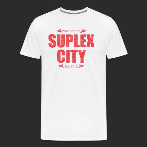 Suplex City Mens T-Shirt - Men's Premium T-Shirt