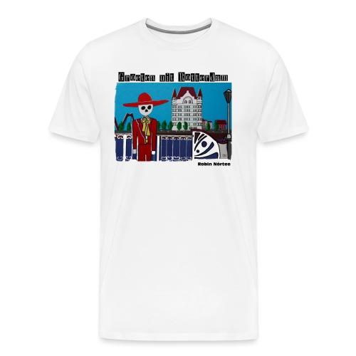 witte_huis - Mannen Premium T-shirt