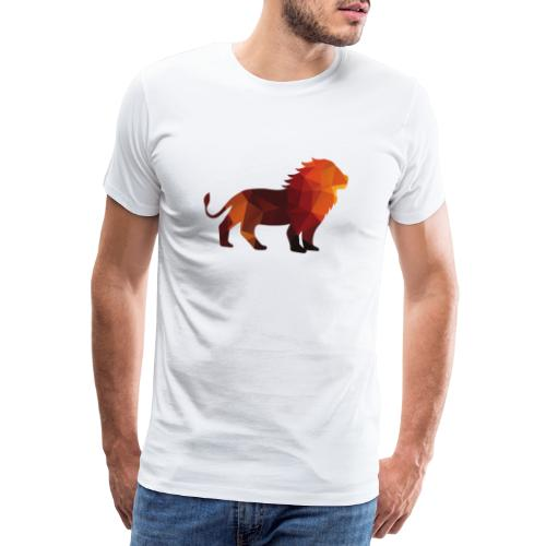 The Lion of Wall Street - Men's Premium T-Shirt