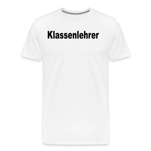 Lehrer Klassenlehrer Abi - Männer Premium T-Shirt