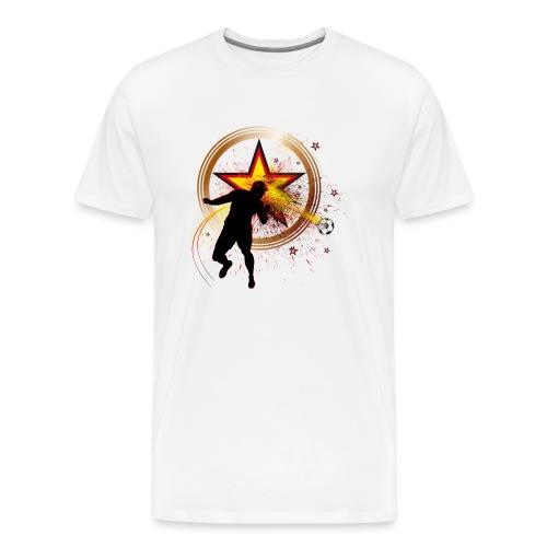 Kopfball Star Deutschland B - Männer Premium T-Shirt